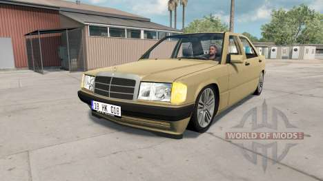 Mercedes-Benz 190 E для American Truck Simulator