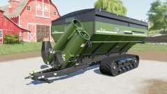 Elmers HaulMaster with trailer coupling для Farming Simulator 2017