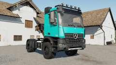 Mercedes-Benz Arocs AS 4x4 для Farming Simulator 2017