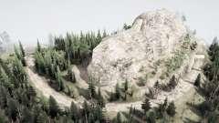 Over the mountain для MudRunner