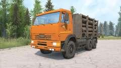 КамАЗ-65115 для MudRunner