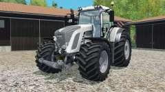Fendt 9ろ3 Vario white edition для Farming Simulator 2015