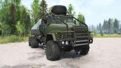 КрАЗ-260 тёмно-серовато-зелёный для MudRunner