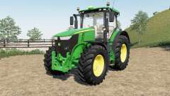 John Deere 7230R-7310Ɍ для Farming Simulator 2017