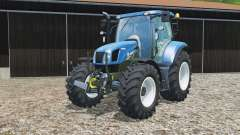 New Holland T6.160 replaceable tires для Farming Simulator 2015