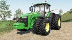 John Deeᶉe 8245R-8400R для Farming Simulator 2017