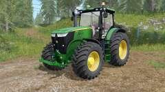 John Deere 7280R-7310R selecting modification для Farming Simulator 2017