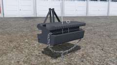 Front weight with movable chain для Farming Simulator 2013