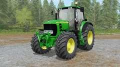 John Deere 7430&7530 Premium improved spec для Farming Simulator 2017