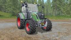 Fendt 500 Vario with all-round lights для Farming Simulator 2017