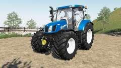 New Holland T6.140 & T6.160 для Farming Simulator 2017