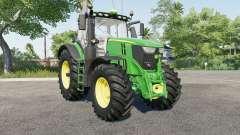 John Deere 6R-serieᵴ для Farming Simulator 2017