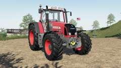 Fendt 800 Vario TMS added FL mounting frame для Farming Simulator 2017