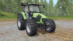 Deutz-Fahr 5110 TTV the choice of wheels для Farming Simulator 2017
