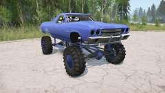 Chevrolet El Camino 1970 lifted для MudRunner