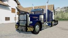 Peterbilt 389 Heavy blue, red, green для Farming Simulator 2017