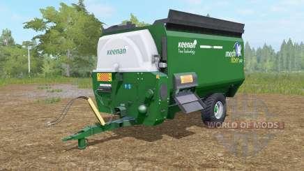 Keenan Mech-Fibrᶒ 340 для Farming Simulator 2017