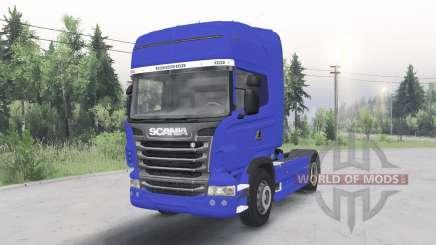 Scania R730 4x4 Topline cab 2009 для Spin Tires