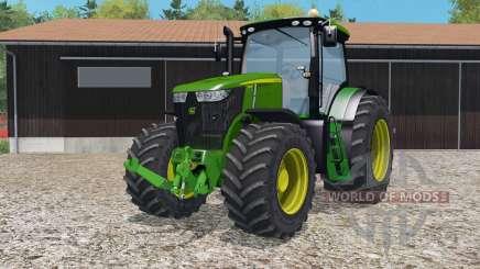 John Deeᵲe 7310R для Farming Simulator 2015