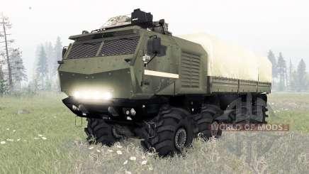 КамАЗ-53958 Торӈадо для Spin Tires