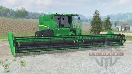 John Deere S670&S680 для Farming Simulator 2013