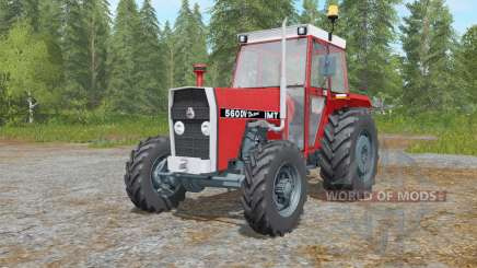 IMT 560 DV DeLuxe для Farming Simulator 2017