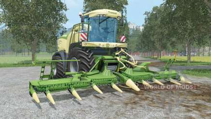 Krone BiG X 580 & EasyCollect 750 для Farming Simulator 2015