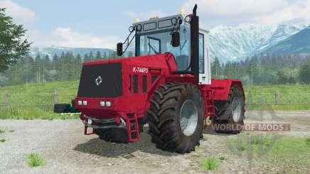 Кировец К-744Ҏ3 для Farming Simulator 2013