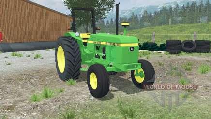 John Deere 2140 dual rear wheels для Farming Simulator 2013