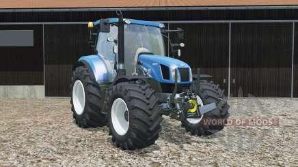 New Hollanᵭ T6.160 для Farming Simulator 2015