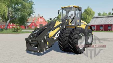 JCB 435 S wheels selection для Farming Simulator 2017