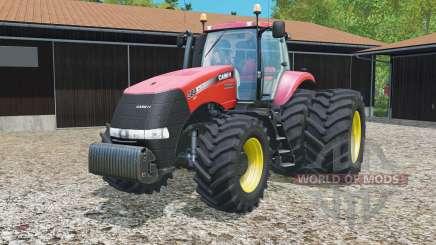 Case IH Magnum 380 CVT dynamic rear twin wheels для Farming Simulator 2015