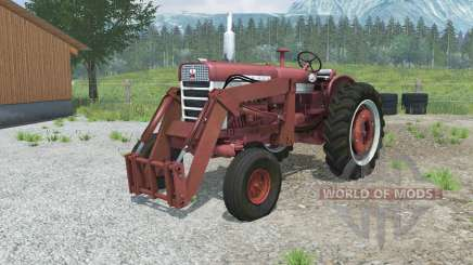 Farmall 560 with front loader для Farming Simulator 2013