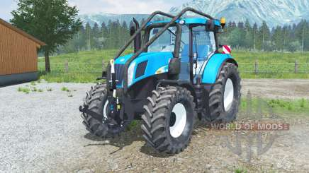 New Holland T7050 Foreꜱt для Farming Simulator 2013