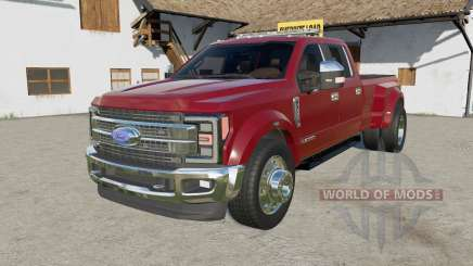 Ford F-450 Super Duty Platinum Crew Ƈab 2017 для Farming Simulator 2017