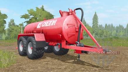 Creina CVC 14000 VƬ для Farming Simulator 2017