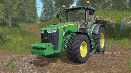 John Deere 8245Ɍ-8400Ɍ для Farming Simulator 2017