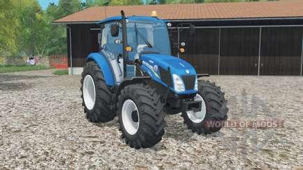 New Hꝍlland T4.115 для Farming Simulator 2015