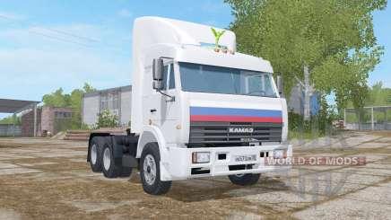КамАЗ-54115 с собственным весом 7400 кг. для Farming Simulator 2017