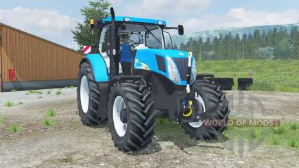 New Holland T7040 front loader для Farming Simulator 2013