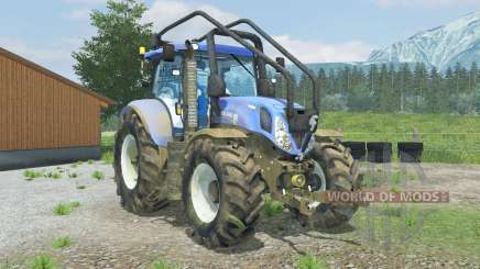 New Holland T7.210 Forest для Farming Simulator 2013
