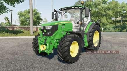 John Deere 6125R для Farming Simulator 2017