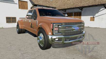 Ford F-450 Super Duty Platinum Crew Cab Ձ017 для Farming Simulator 2017