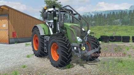 Fendt 828 Vario Forest Edition для Farming Simulator 2013