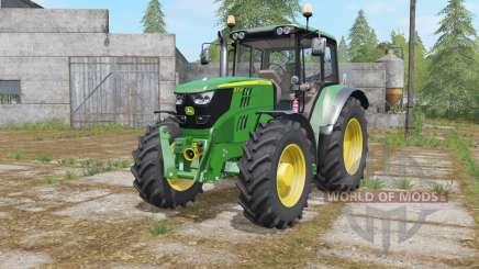 John Deere 6115M-6155M для Farming Simulator 2017