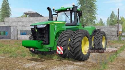 John Deere 9420R-9620R для Farming Simulator 2017