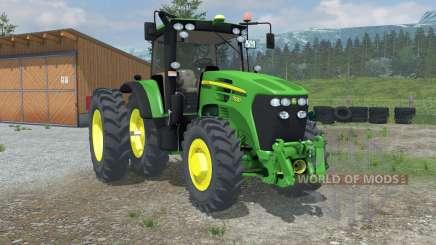 John Deere 7930 Row Crop для Farming Simulator 2013