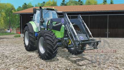 Deutz-Fahr 7250 TTV Agrotron frontlader для Farming Simulator 2015