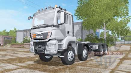 MAN TGS 4-axis Multilift для Farming Simulator 2017