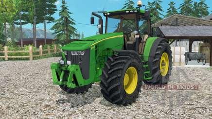 John Deere 8370Ɍ для Farming Simulator 2015